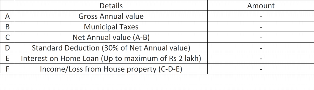 standard deduction in income tax